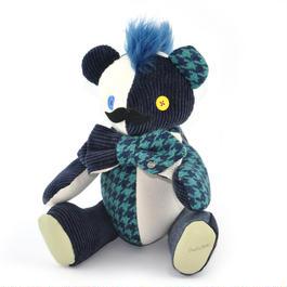 Patriqo Teddy Bear [Cord Houndstooth]
