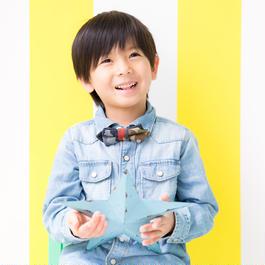 【KIDS】Patriqo Came Mix Bowtie 蝶ネクタイ (ブローチ)
