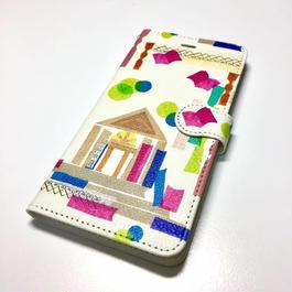 iphone  6/6S 手帖型ケース【図書館】