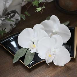 胡蝶蘭のヘッドアクセ