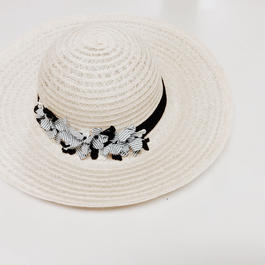 French linen hat