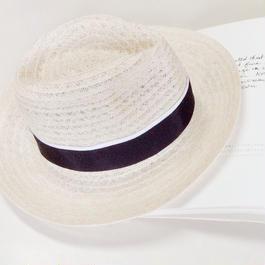linen hat (navy)