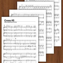 【フルスコア】Cross 第3番 完全コピー楽譜 (レ・フレール)