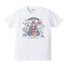ジェニー・カオリ「MAGAZINE HOLIC GIRL」Tシャツ(Color)