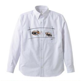 空想架空マンション「目視」Yシャツ
