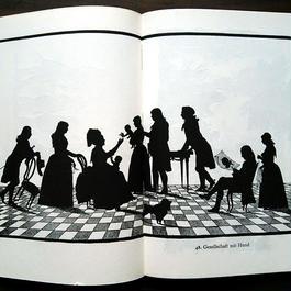 ◆ドイツ インゼル文庫Nr.565<ゲーテの時代のシルエット>◆Schattenbilder der Goethezeit