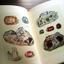 【再入荷】◆ドイツ インゼル文庫Nr.54<小さな鉱物の本>◆Das Kleine Buch der Edelsteine