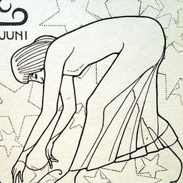 Joseph Speybrouck 1928☆6月かに座☆アンティークポストカード