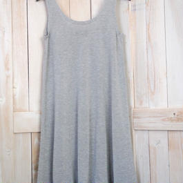 ripple Dress light grey