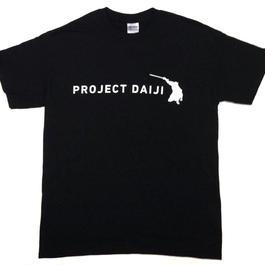 ダイジシルエットTシャツ_黒
