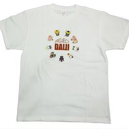 ダイジ イラストTシャツ[ホワイト]