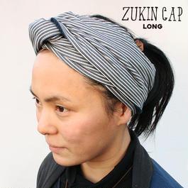ZUKIN CAP LONG STRIPE ユニセックス