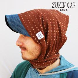 ZUKIN CAP BROWN DOT ユニセックス 限定2個