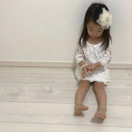 【Kids 】総レースdress one-piece