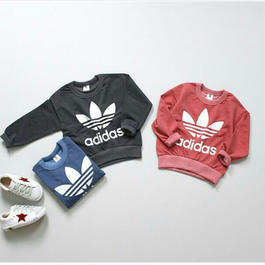 【for kids】adidas parody pullover