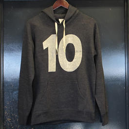 Rew10 No.10 Sweat Parka Midnight Heather