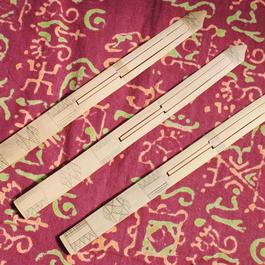 竹製口琴クンビン(フィリピン/チボリ族)