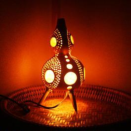 ひょうたん灯(土偶1)
