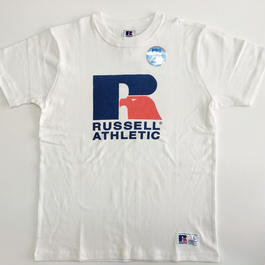 "RUSSELL PRO COTTON ""RUSSELL LOGO""T ホワイト RC-196"