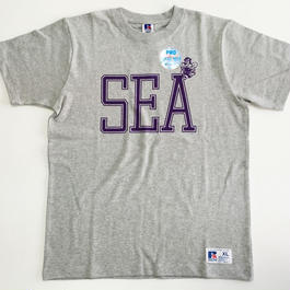 "RUSSELL PRO COTTON ""SEA BEE""T グレー RC-031"