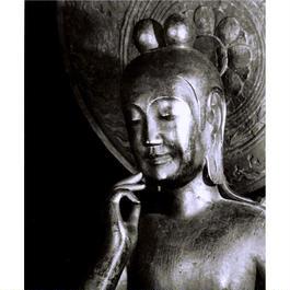 ハイブリッド仏像ポスター「中宮寺如意輪観音」(御顔)全紙サイズ