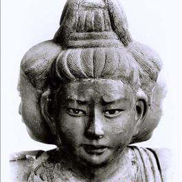 ハイブリッド仏像ポスター「興福寺阿修羅」(御顔)四つ切サイズ
