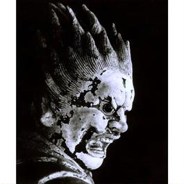 ハイブリッド仏像ポスター「新薬師寺伐折羅大将」(御顔)全紙サイズ