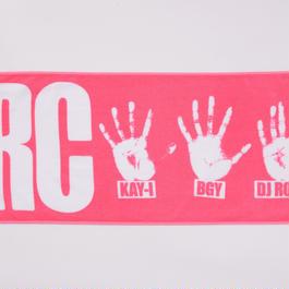 手形タオル(ピンク)