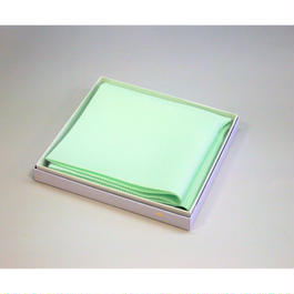 〈五泉最高級生地〉 絽カラー帛紗「白緑・びゃくろく」