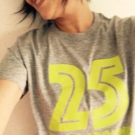 25years around Tシャツ   /    GRAY