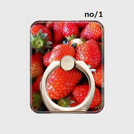 選べるフルーツスマホリング・1