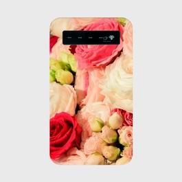 お花 モバイルバッテリー