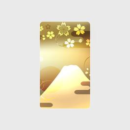金富士山 モバイルバッテリー