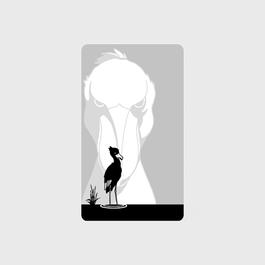 ハシビロコウ モバイルバッテリー