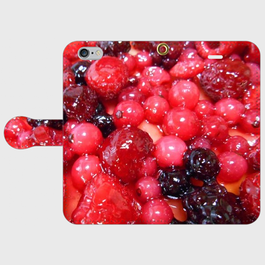 果物1 手帳型スマホケース