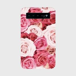薔薇 モバイルバッテリー