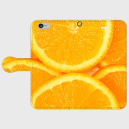 果物6 手帳型スマホケース