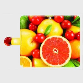 果物4 手帳型スマホケース