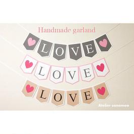 LOVEガーランド(4色からお選びいただけます)
