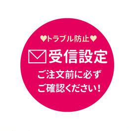 【重要】PCメールを受信できるようご設定お願いいたします