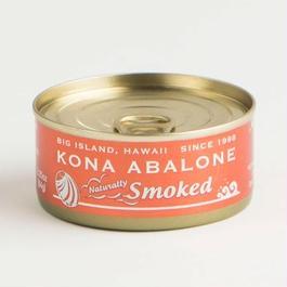 "KONA ABALONE ""Naturally Smoked"" Brown Can ""ナチュラリー・スモークド"" ブラウン缶"