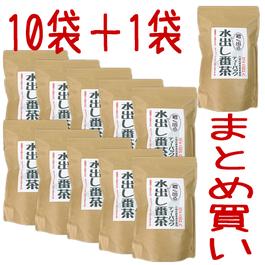 濃く出る水出し番茶15g×30P入 10袋+1袋