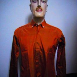 silk shantung extreme B.D. shirt