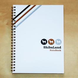 A5サイズ ShibaLand Original Ring Note