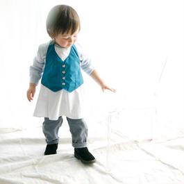 garçon 3/ cobalt blue for baby