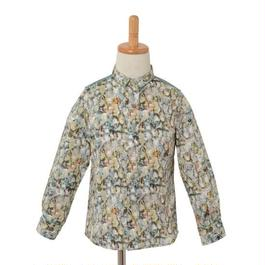 Liberty print shirt/Jewelry (S 100cm)