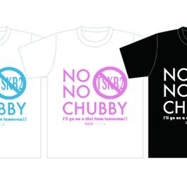 NO NO CHUBBY Tシャツ