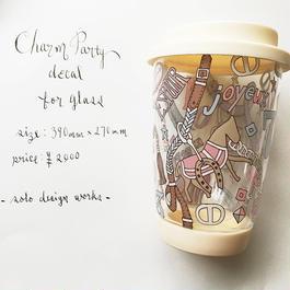 ガラス用 charm party♡