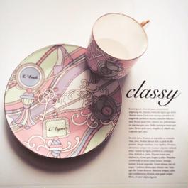 【新春ご予約】classy陶器用5枚セット