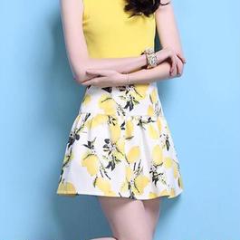 レモン柄♡スカート